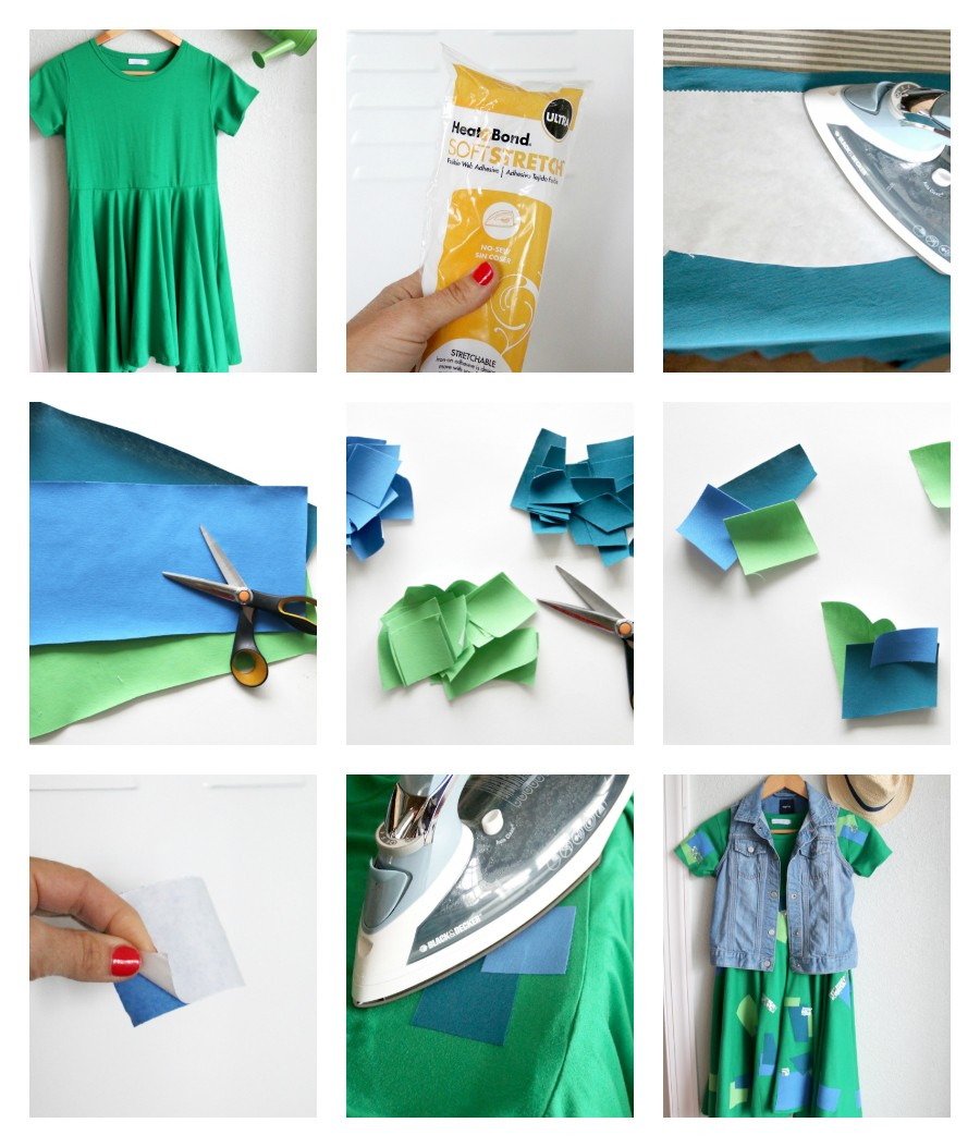 how to make easy homemade patches, or how to easily cover up stains
