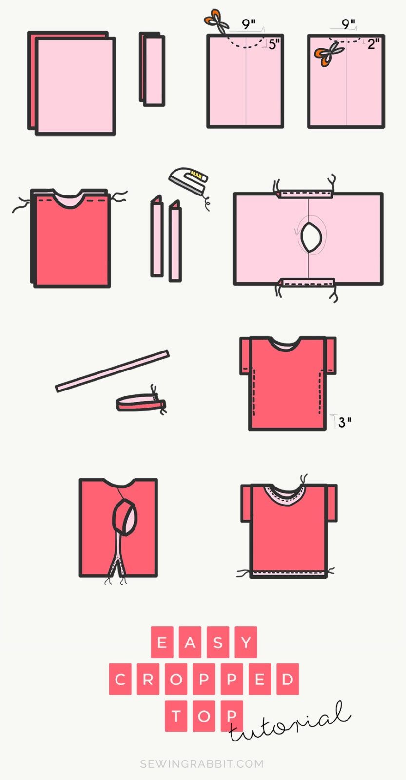 HOW TO SEW AN EASY WOMEN'S TOP