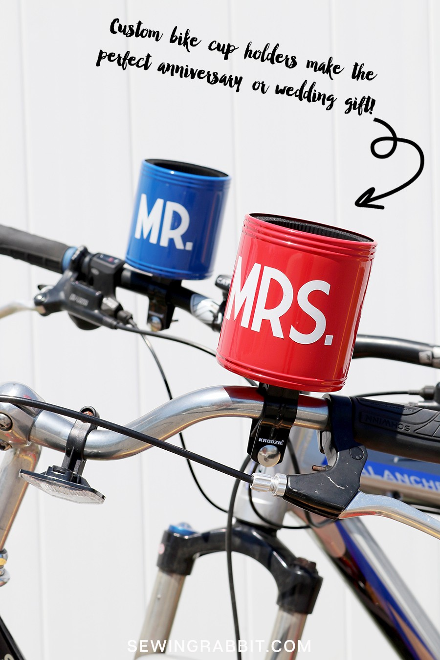 MAKE THESE: Custom Bike coozies