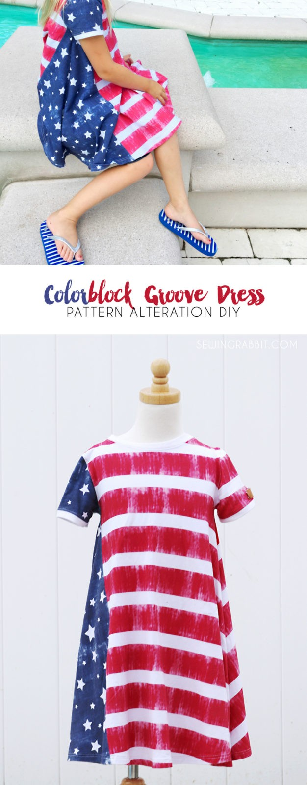 How to color block the groove dress