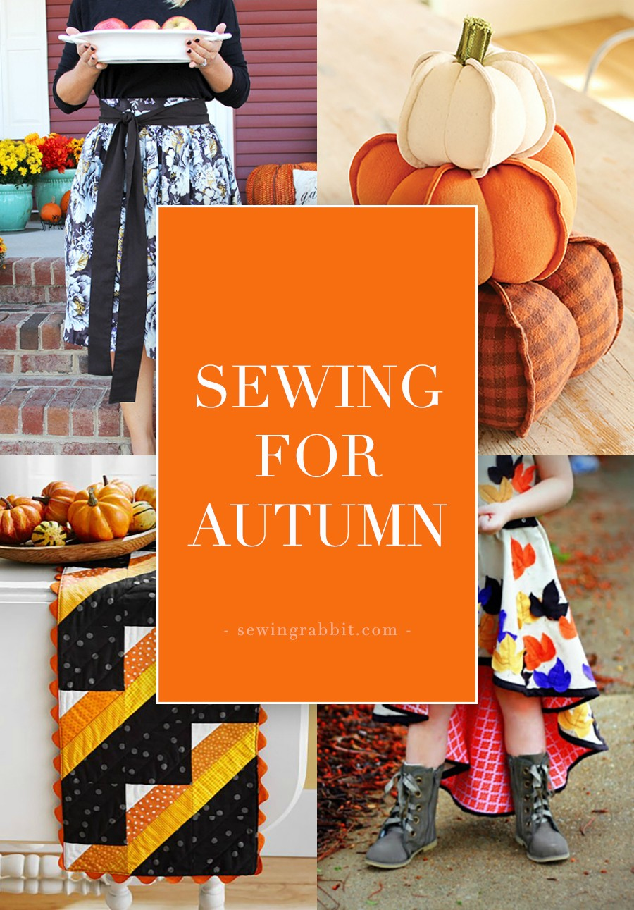 24 things to make for fall the sewing rabbit