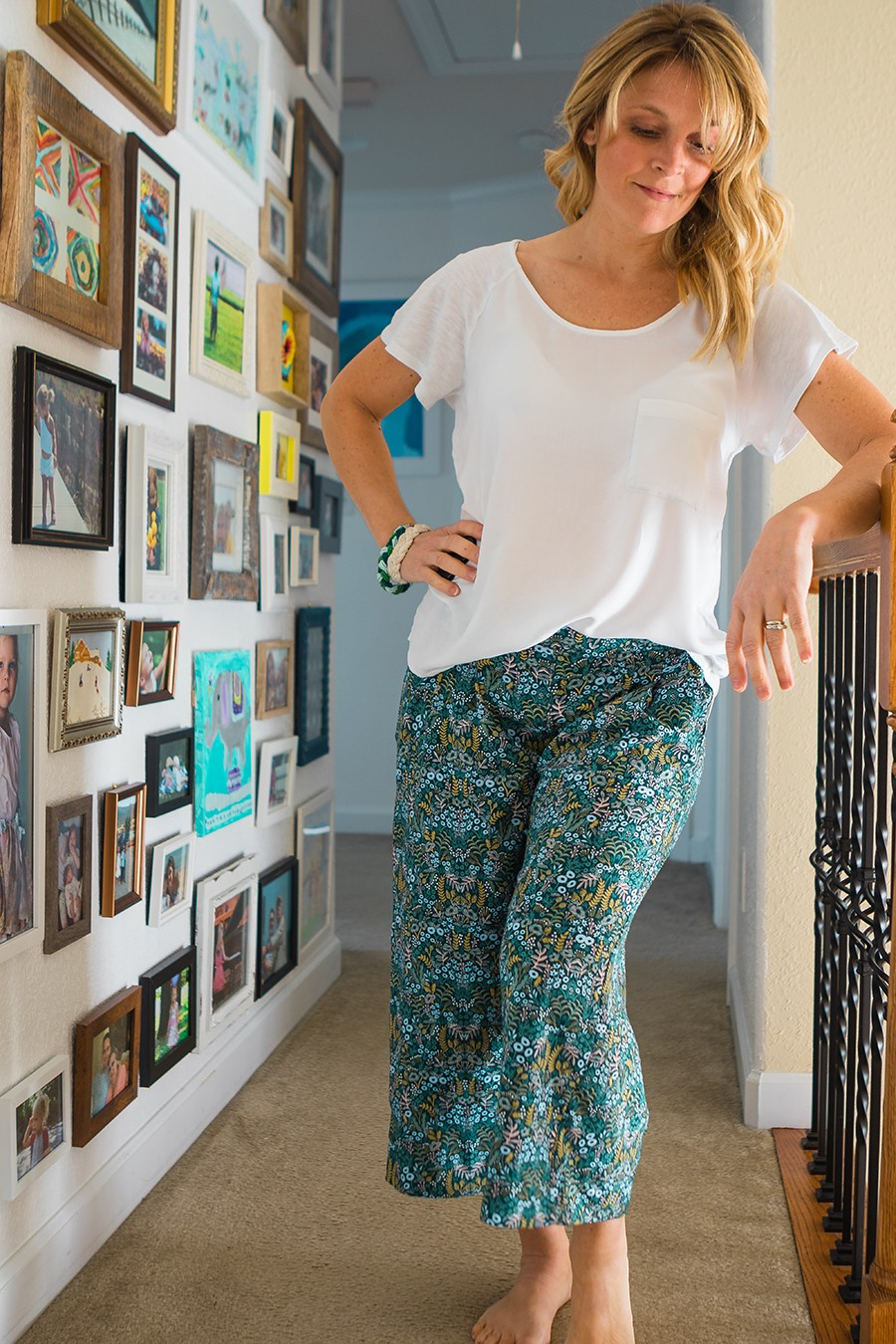 Emerson Crop Pants sewing pattern - my new favorite!