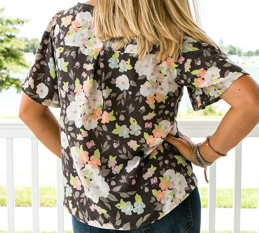 Aster Shirt - women's shirt sewing pattern