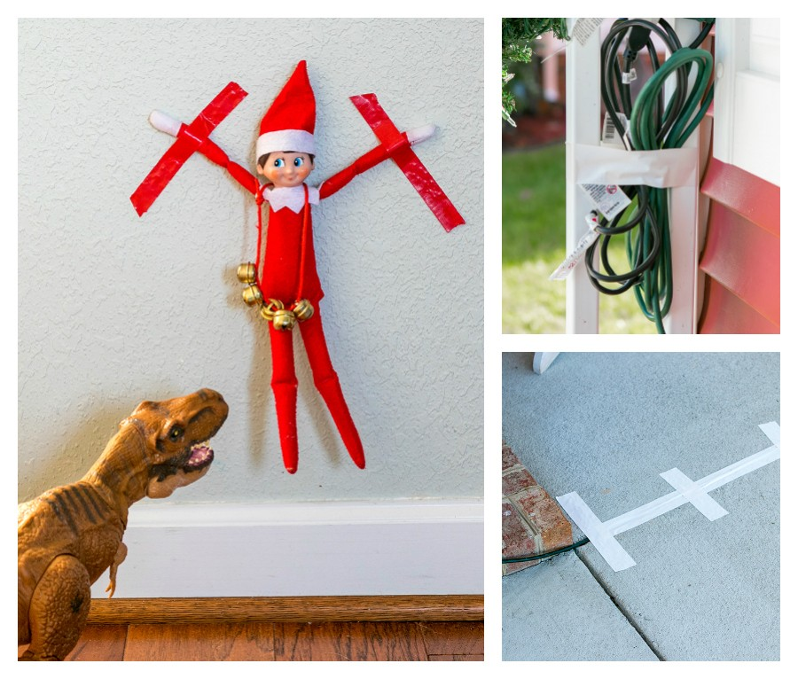 ways to use Duck Tape in your holiday decor